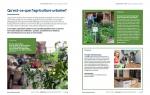 Guide Démarrer un potager, agriculture urbaine — La Brouette